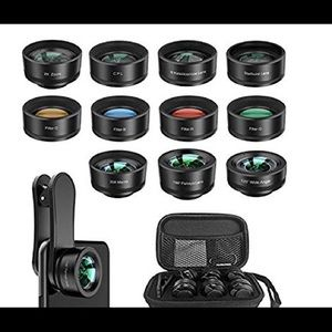 iPhone & Android camera lens kit!